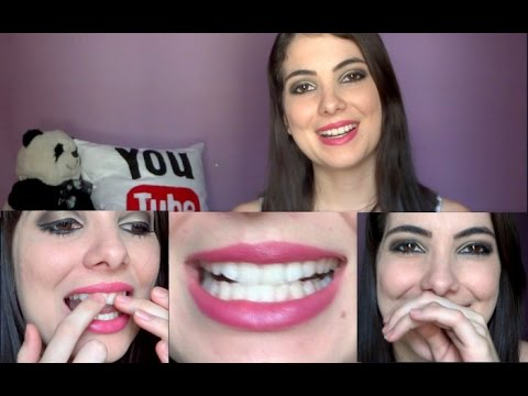 Fitas Branqueadoras Para Os Dentes Oral B Whitestrips Youtube