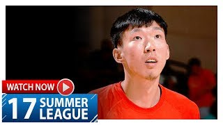 Zhou Qi Full Highlights vs Nuggets (2017.07.07) Summer League - 17 Pts, 6 Reb