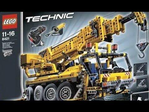 lego technic motorized big crane 8421 youtube. Black Bedroom Furniture Sets. Home Design Ideas