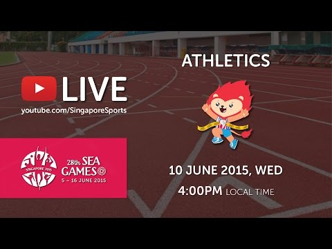 Athletics (Day 5 afternoon) | 28th SEA Games Singapore 2015