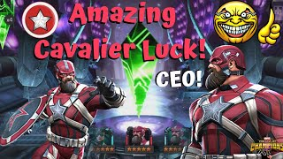 Amazing Red Guardian Cavalier Crystal Luck! CEO Opening! - Marvel Contest of Champions