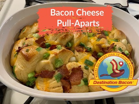 Bacon Cheese Pull Apart Biscuits