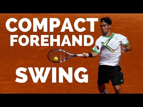 How To Shorten Your Forehand Swing - Tennis Forehand Lesson