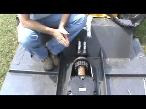 Home Built Skid Steer Mower In Action Home Made Bush Hog