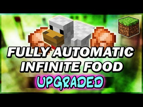 Minecraft 15 Automatic Chicken Farm Cooker V2 Outdated Youtube