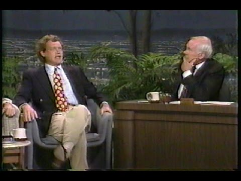 Tonight Show Starring Johnny Carson with guest David Letterman