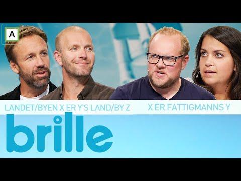 Brille | Panelet prøver seg på frasetemplater | TVNorge
