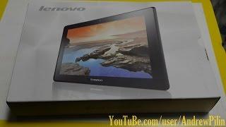 Планшет Lenovo A10 70 Распаковка Обзор