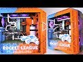 Project Rocket League - Crazy Custom Water Cooled Gaming PC Build | Time Lapse