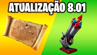 Fortnite-ROCKETS IN VAULT and BURIED TREASURE   Patch 8.01