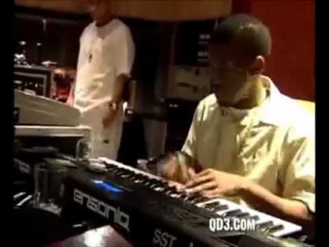 Kanye west in the studio making beats new youtube for Kanye west studio