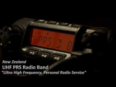 UHF PRS Radio in New Zealand