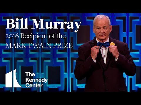 Bill Murray Acceptance Speech | 2016 Mark Twain Prize
