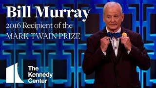 Bill Murray Acceptance Speech | 2016 Mark Twain Prize