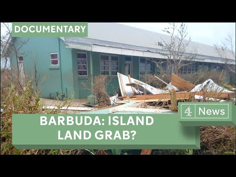 Barbuda: Fears of land grab after hurricane