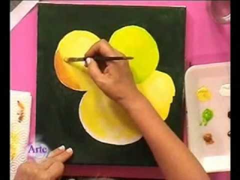 C mo pintar una naturaleza muerta en acr lico youtube - Como pintar bien una pared ...