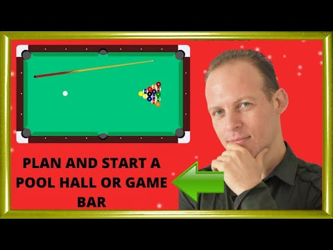 pool hall business plan