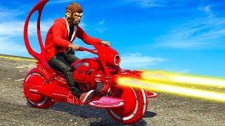 NEUES $3,500,000 LASER MOTORRAD! (GTA 5 DLC)