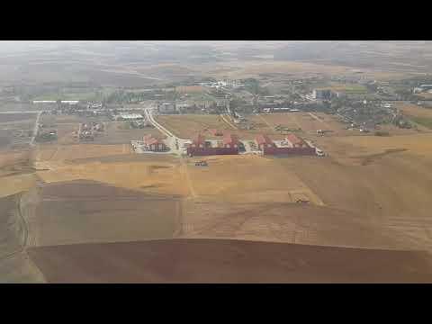 Landing at Esenboğa International Airport, Akyurt/Ankara [Turkey]