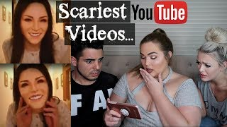 5 SCARIEST Unexplained Videos on YouTube... Loey Lane, Hailey Reese & AndrewTMI