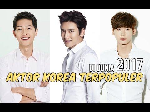 12 Aktor Korea Terpopuler di Dunia | 2017