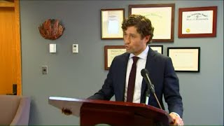 Mayor Jacob Frey calls on county attorney to charge officer involved in George Floyd's death