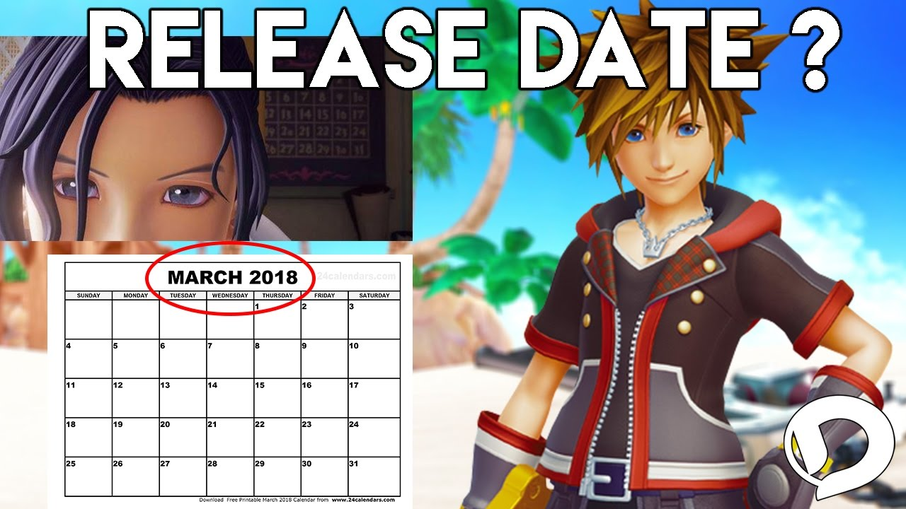 Release date for kingdom hearts 3 in Sydney