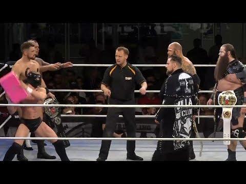 The Prestige vs. War Machine & Marty Scurll (Pro Wrestling World Cup - Round Of 16)
