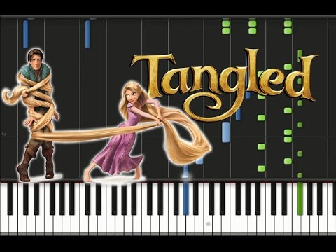 Tangled - Kingdom Dance Synthesia Tutorial