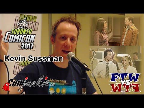 Kevin Sussman  Toronto ComiCon 2017  Full Panel
