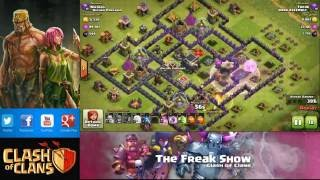 Clash of Clans - SUPER QUEEN ULTIMATE FARMING STRATEGY