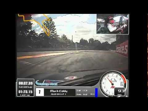 Warren Luff lap of Clipsal in Audi R8LMS