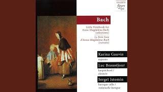 Gib dich zufrieden und sei stille, BWV 512