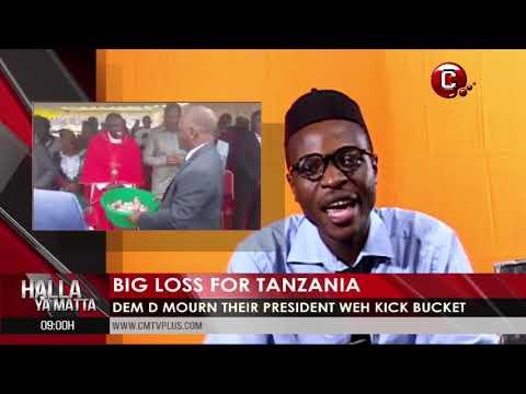 Big Loss for Tanzania   Halla Ya Matta with Papa Joe