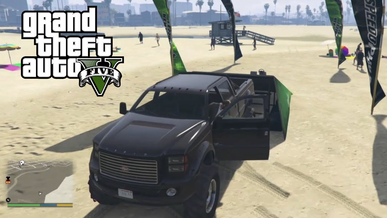 GTA 5 - Lifted Truck Location - YouTube