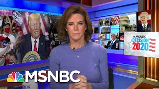 Fox News Paints Very Different Picture Of Election's Final Week   Stephanie Ruhle   MSNBC