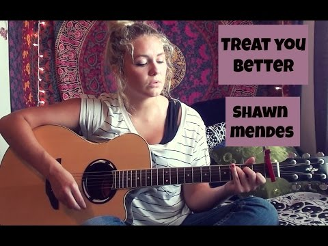 Treat You Better-Shawn Mendes Guitar Tutorial