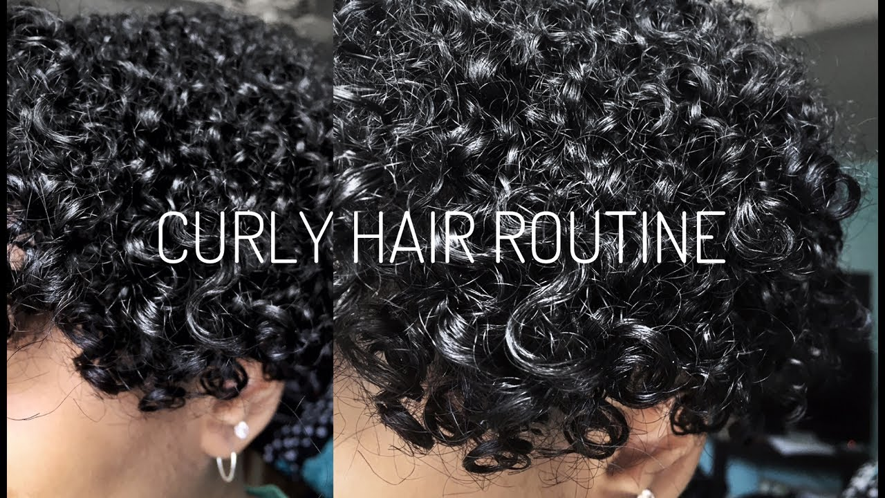 Straight perm damage - Straight To Curly Hair Routine No Damage Cici Gee