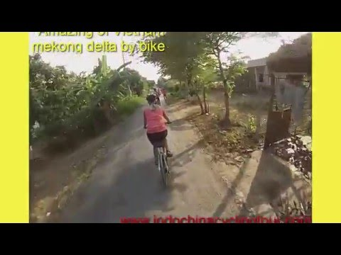 Cycling mekong delta | Vietnam adventure cycling | Vietnam bicycle tour