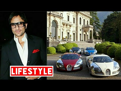 Saif Ali khan  Net Worth, Salary, House, Car, Family and Lux