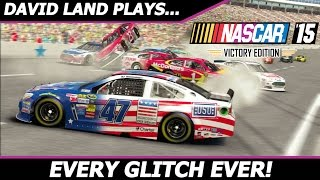 EVERY GLITCH EVER! (David Land RETURNS to NASCAR 15 Victory Edition!) #2 Texas