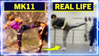 Expert Martial Artists RECREATE moves from Mortal Kombat 11 | Experts Try
