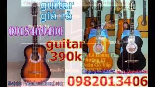 Ban dan guitar gia re nhat tai go vap , đàn ghita giá 390.000 dành cho người mới tập chơi đàn