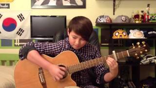 Neon Trees - Animal - Fingerstyle Guitar Cover - Andrew Foy