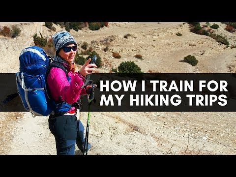 How I train for upcoming hikes - lazy person edition