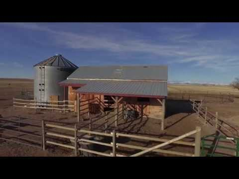 Aerial 4k tests from the Inspire over Choteau, Montana