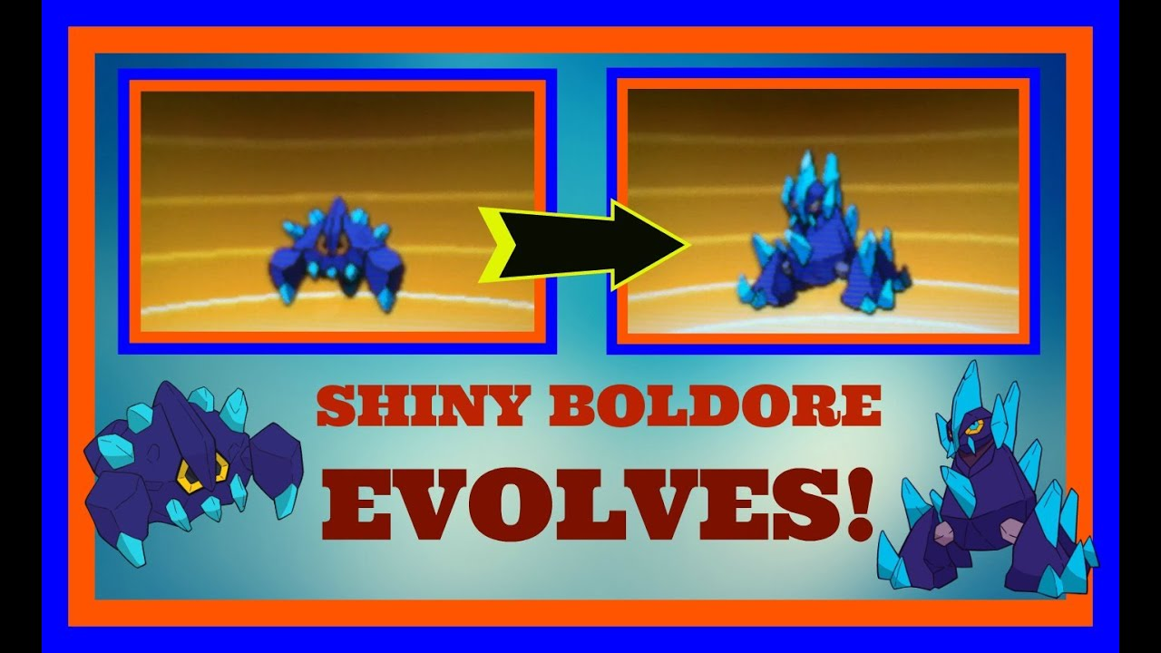 Pokemon Boldore Evolution Images | Pokemon Images