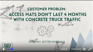 Access-Mats-Concrete-Truck-92,000 lbs.