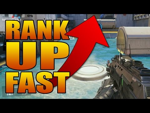 How to Rank Up Fast in Call of Duty: Advanced Warfare (COD Level Up Quick XP Guide Tips)