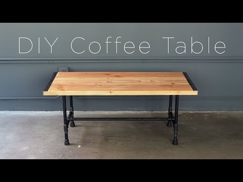 DIY Pipe Coffee Table